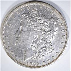 1895-O MORGAN DOLLAR XF CLEANED