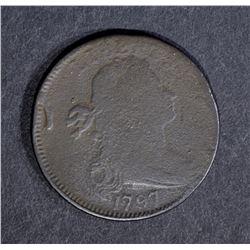 1797 LARGE CENT-STEMLESS, FINE a little grainy