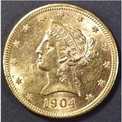 1904-O $10  GOLD CH BU