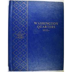 ALMOST COMPLETE 1932-64 WASHINGTON QUARTER SET