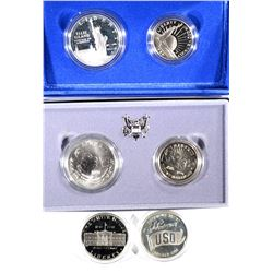 4 Commemorative Coin Sets
