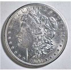 1891-S MORGAN DOLLAR AU/BU