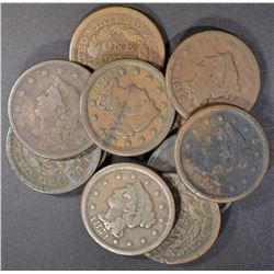 (11) AVE CIRC LARGE CENTS