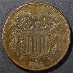 1865 2 CENT AU