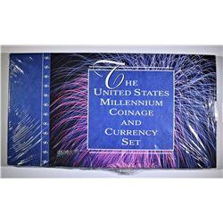 2000 U.S. MINT MILLENIUM SET