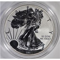 2011 REVERSE PROOF AMERICAN SILVER EAGLE IN ORIG