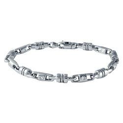 1.09 CTW Diamond Bracelet 14K White Gold - REF-299X7R