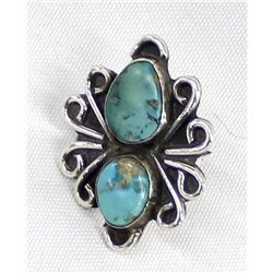 Vintage Native American Navajo Ring, Size 7.5
