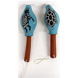 2 Hopi Rattles
