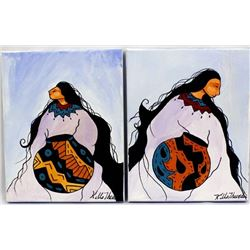 2 Kills Thunder Acrylic Paintings