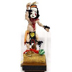 Hopi Pipcuka Clown Kachina by Larry Hobbs
