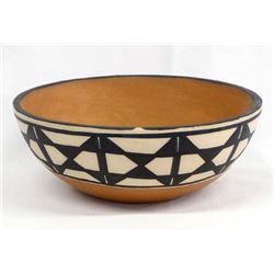 Santo Domingo Pottery Bowl by Anna M.T. Lovato