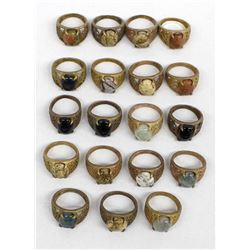 19 Miscellaneous Copper Rings
