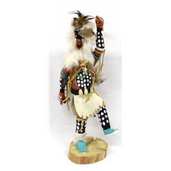 Native American Navajo Spear Dancer Kachina