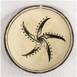 Vintage Tesuque Micaceous Clay Shallow Bowl