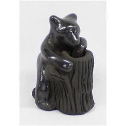 Santa Clara Pottery Bear-Paul & Dorothy Gutierrez