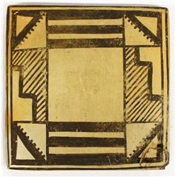 Vintage Hopi Pottery Tile by Sadie Adams