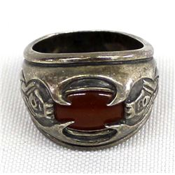 Lord of the Rings Silver Ring of the Humankings