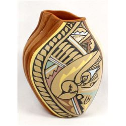 Jemez Carved Pottery by Clara Gachupin Walatowa