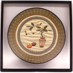 Framed Original Chinese Embroidery