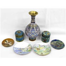 Collection of Chinese Cloisonne' & Enamelware
