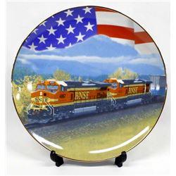 Train Collector Plate