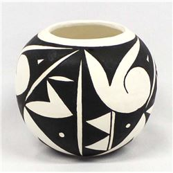 Acoma Pottery Jar by D. Gallegos