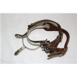 Pair of Spurs - Silver Colour