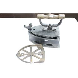 Charcoal Iron & Trivet