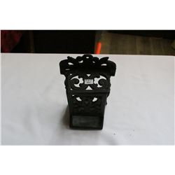 Cast Iron Match Box Holder