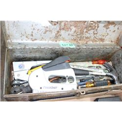 Metal Tool Box w/Contents