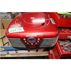 Magnasonic CD Player, AM/FM Radio
