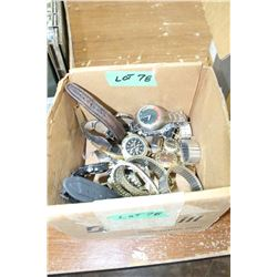 Box of Assorted Men's' Watches