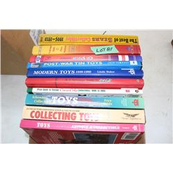 Box of 10 Assorted Collector Books