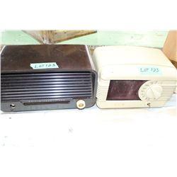 2 Vintage Radios - 1 Philco and ?