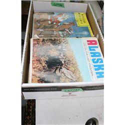 Box of Alaska Magazines, Western Horseman & Canadian Cattleman Magazines