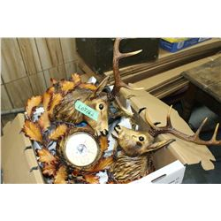 Barometer - 2 Deer Heads