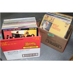 2 Boxes of 33 rpm Albums - Various Artists