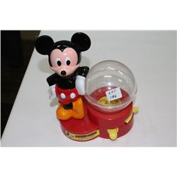 Mickey Mouse Gumball Bank