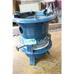 Beacon Fabrikat Enamel Cook Stove with Oil Wick