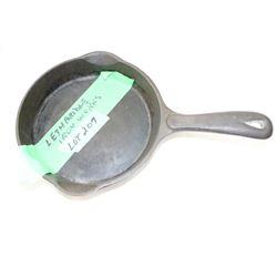 "6"" Lethbridge Iron Works Cast Iron Fry Pan"