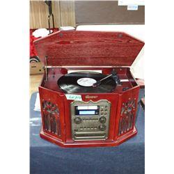 Memorex Radio, Record and CD Player
