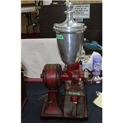 The Hobart Manufacturing Co., Toronto, Ont.' Electric Coffee Grinder - In Working Condition