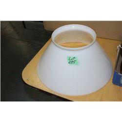 Gas Lamp Glass Shade