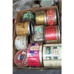2 Boxes of Tobacco Tins