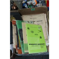 Collection of Tractor & Implement Manuals