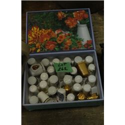 Box of Thimbles