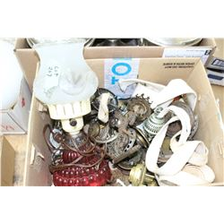 Box of Lamp Parts