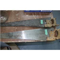 2 Hand Saws