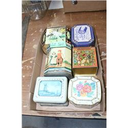 Flat w/Old Decorator Tins